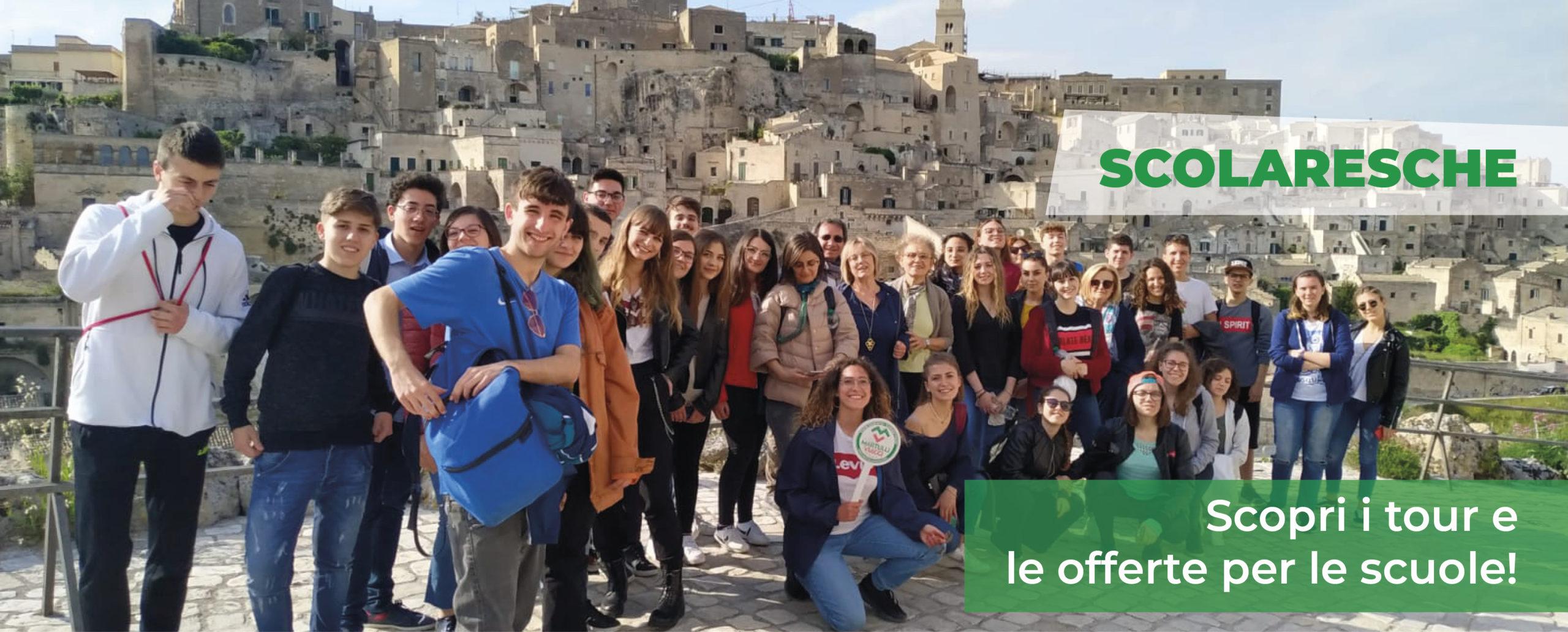 Tour dei Sassi di Matera per Gruppi Scolastici – Martulli Viaggi